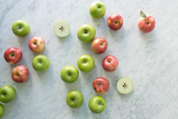 raw apples