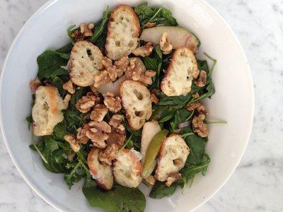 Pear and Arugula Salad