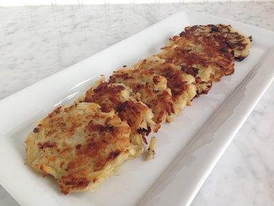 even better potato latkes