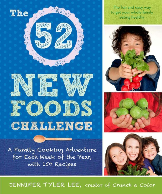 The 52 New Foods Challenge Book