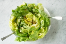 Butter Lettuce Herb Salad adapted from The Whale Wins