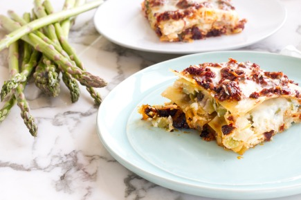 Delicious Asparagus Lasagna adapted from Marcus Samuelsson