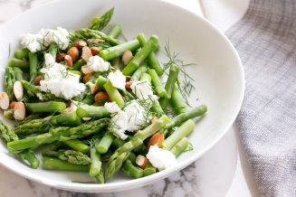 Asparagus with Toasted Almonds inspired by Tastebook