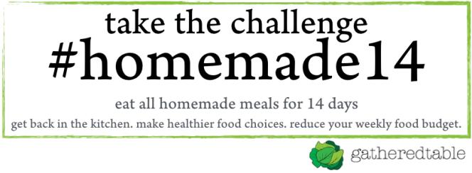 take the homade14 challenge with gatheredtable