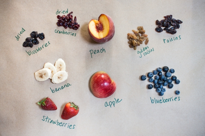 Oatmeal 101 Fruit