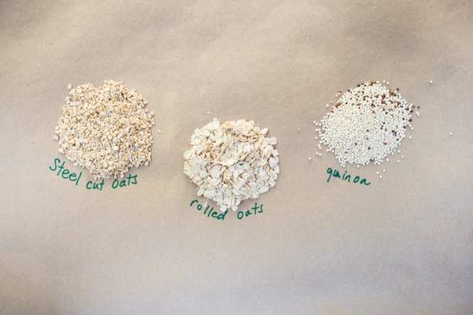 Oatmeal 101 Grains